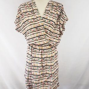 ❣Sale❣BCBG Maxazria 100% Silk Faux Wrap Dress